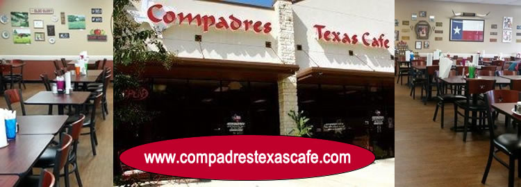Compadres Texas Cafe - Breakfast Served All Day - www.compadrestexascafe.com